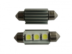 Festoon 3 LED SMD 5050 36mm 12V  CANBUS