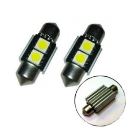 Festoon 2 LED SMD 5050 31mm 12V  CANBUS