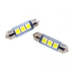 Festoon 3 LED SMD 5050 42mm 12V