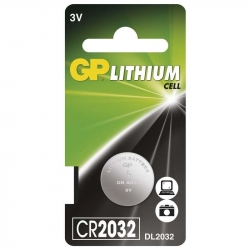 GP Lithium  cell  CR2032  3V