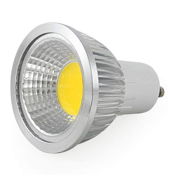 Gu10 cob 7w kov telo for Led lampen 0 5 watt